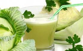 Чем полезен сок капусты