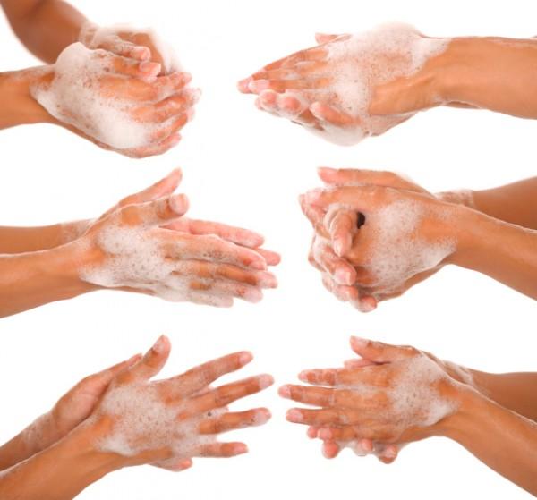 Как правильно сушить руки?