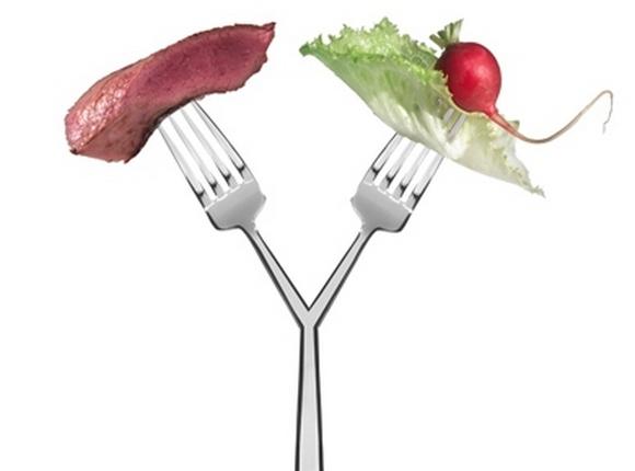 Раздельное питание: меню на неделю