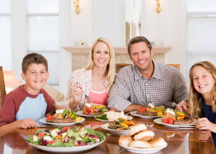 Семейный ужин: питание и питательность