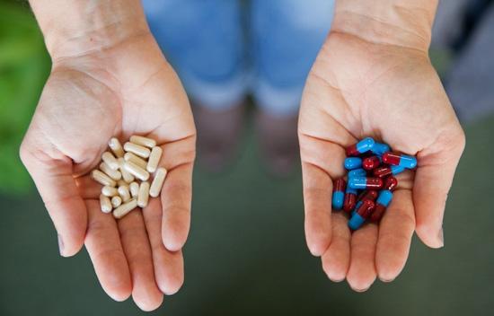 Пробиотики и антибиотики
