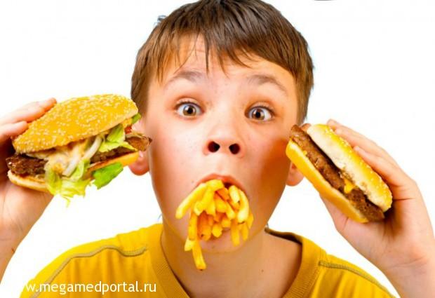 Специалисты рассказали, почему фаст-фуд делает человека толстым