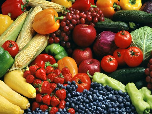 Фрукты всякие нужны, овощи всякие важны
