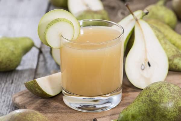 Грушевый сок полезен для здоровья кишечника
