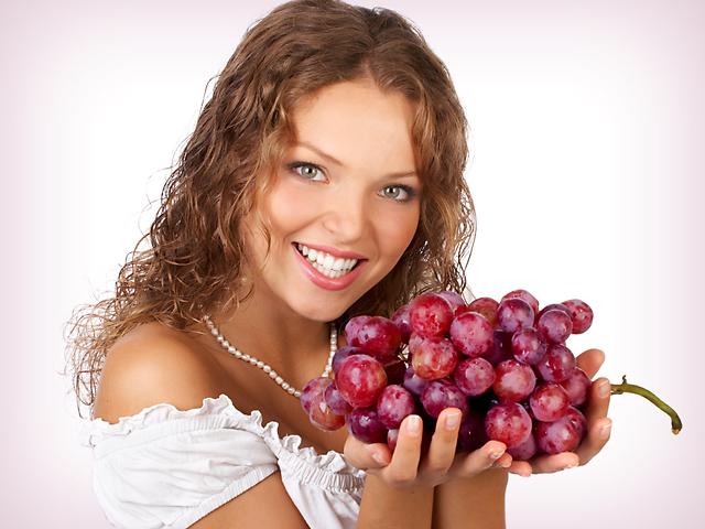 Виноградная диета налаживает обмен веществ