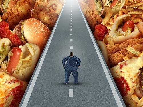 Ожирение не связано с употреблением фастфуда