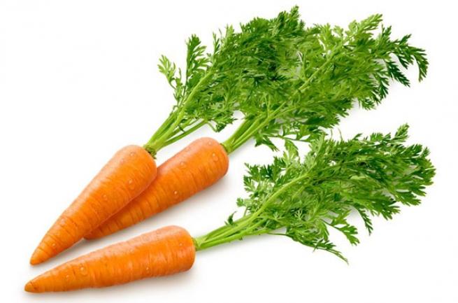 Морковь возглавила список полезных продуктов
