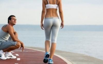 Занятия спортом при похудении