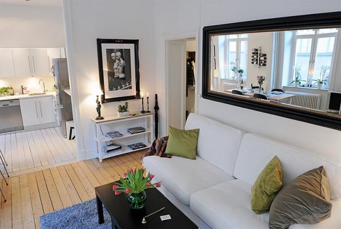 Как увеличить пространство в маленькой комнате?