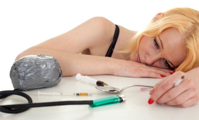 Наркомания. Желание новой дозы или ломка