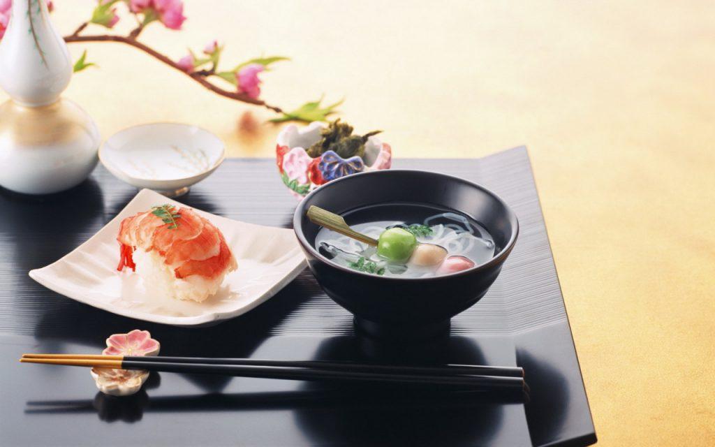 Японская кухня для здоровья и похудения