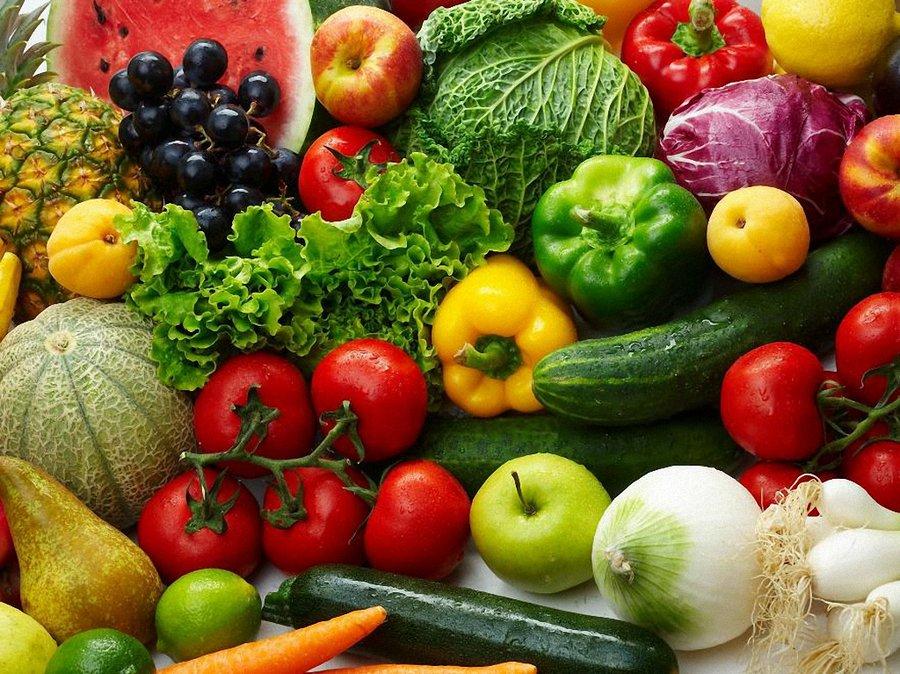 Овощи в диетологии