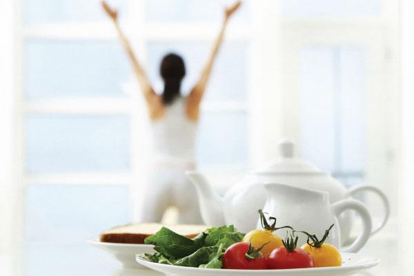 Двухразовое питание помогает быстро сбросить вес