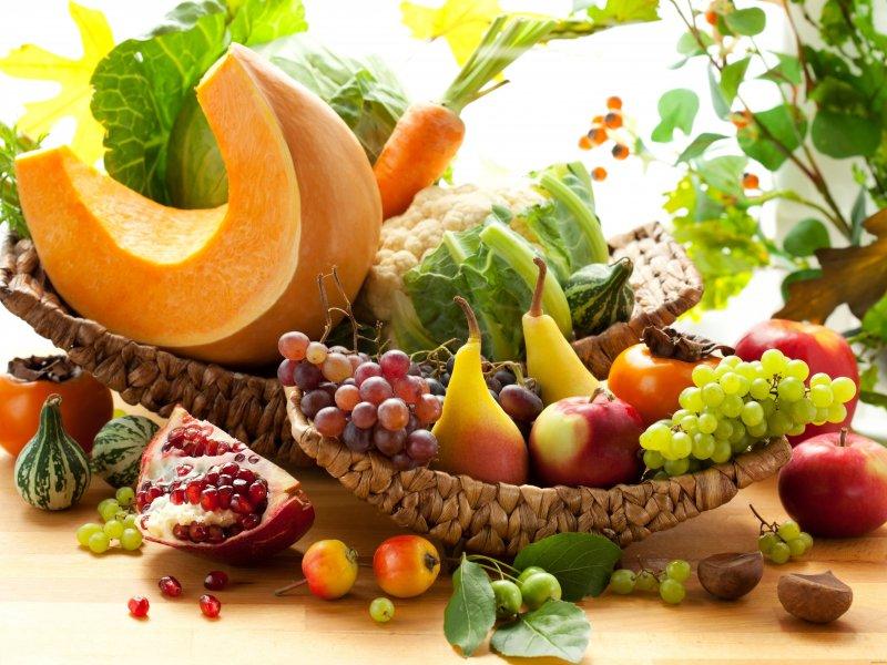 Правильное осеннее питание