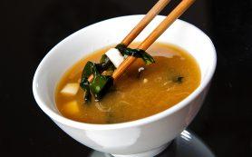 Японский мисо суп снижает вероятность развития рака желудка