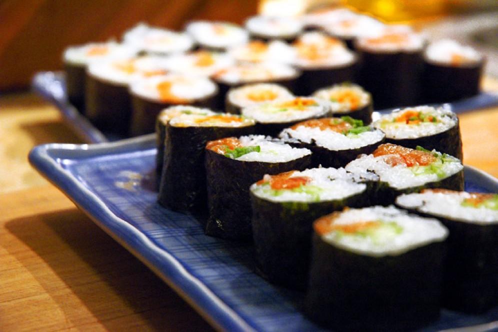 Суши меняют микрофлору кишечника