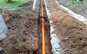 Как утеплить раструб канализационной трубы в грунте