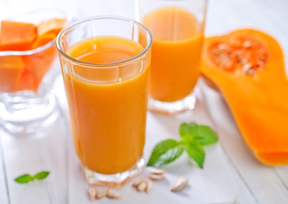 Почему утром полезно пить тыквенный сок