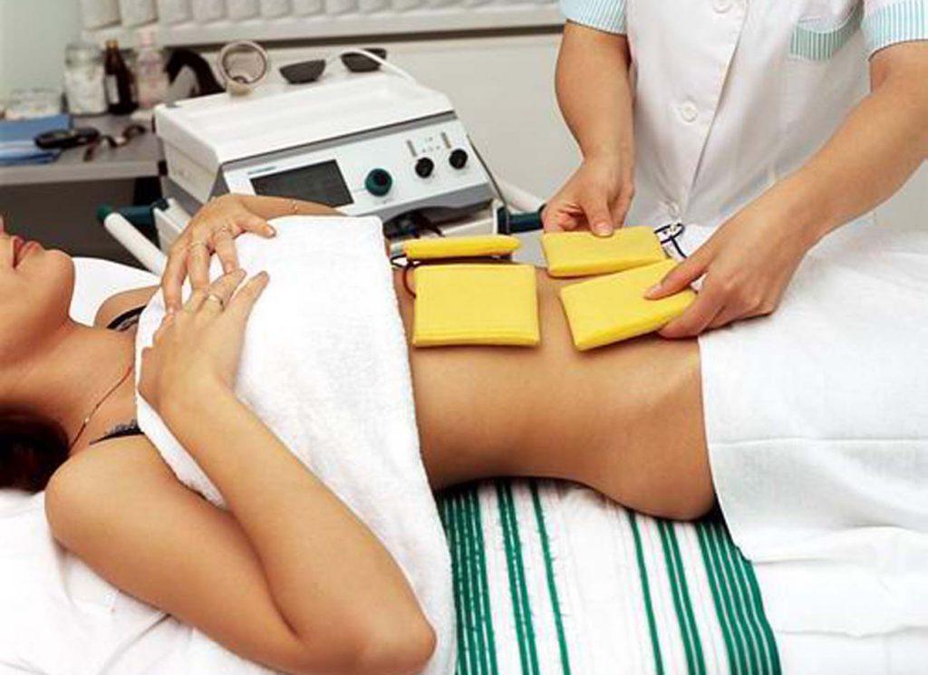 Физиопроцедуры в борьбе с лишним весом