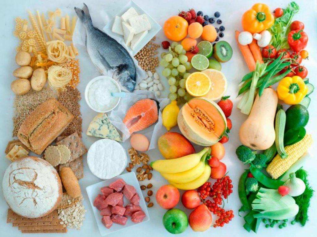Основные нормы раздельного питания