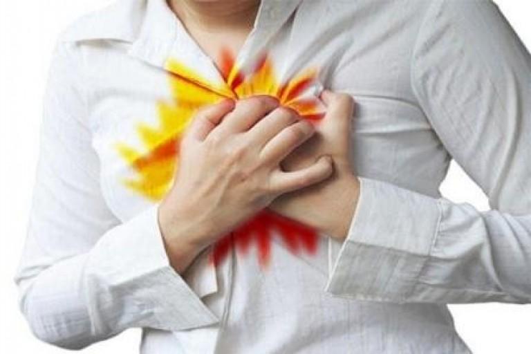 Изжога может спровоцировать развитие астмы