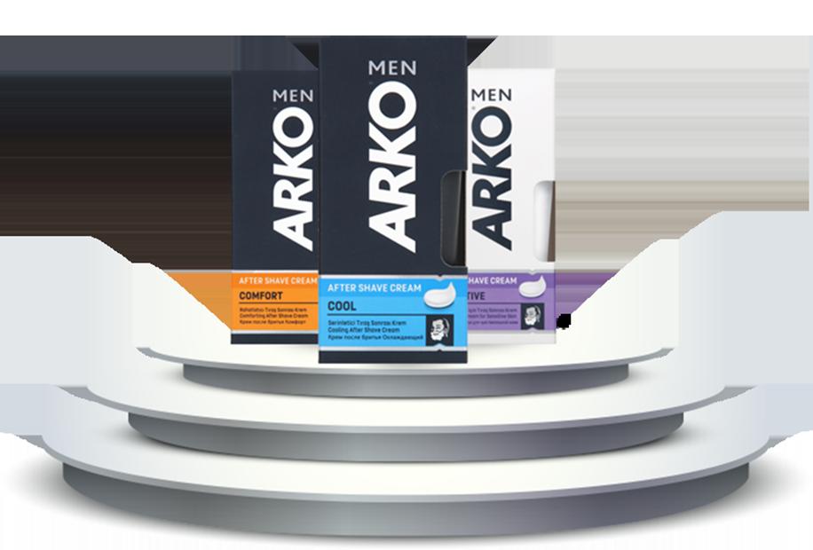 Подарят мужчине приятные ощущения после бритья кремы от Arko Men