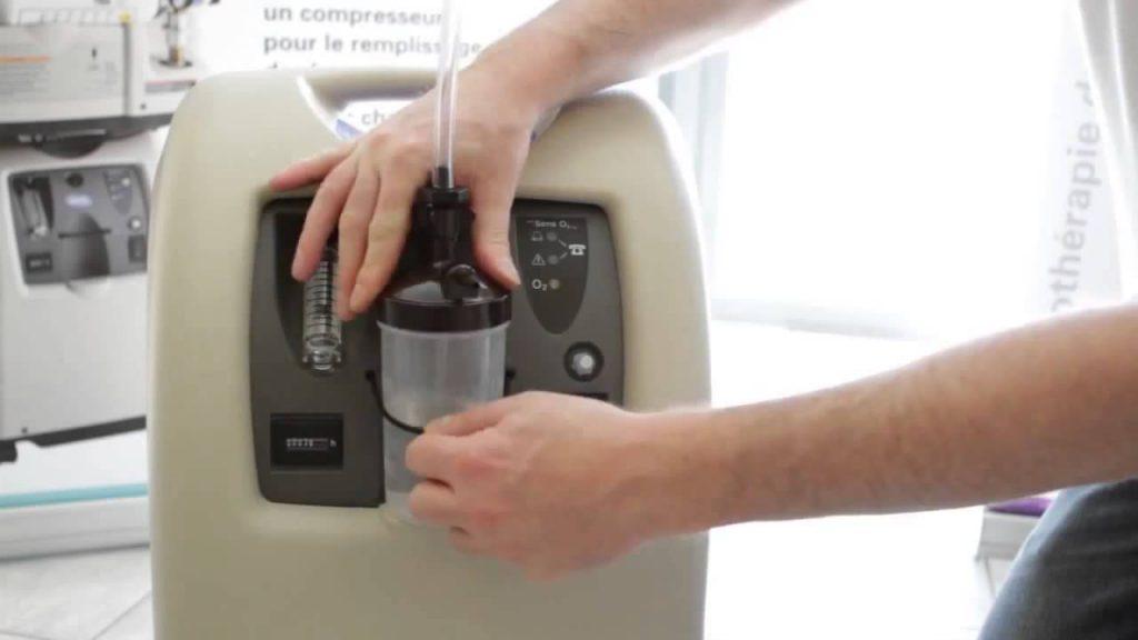 Практическое решение для лечения дыхательных путей — кислородный концентратор Invacare Perfecto2.