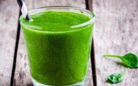 Зеленый смузи для очищения организма