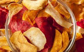 Опровергнута польза овощных чипсов