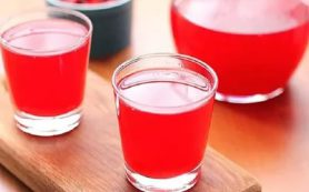 Очищающий кисель для здоровья кишечника и печени