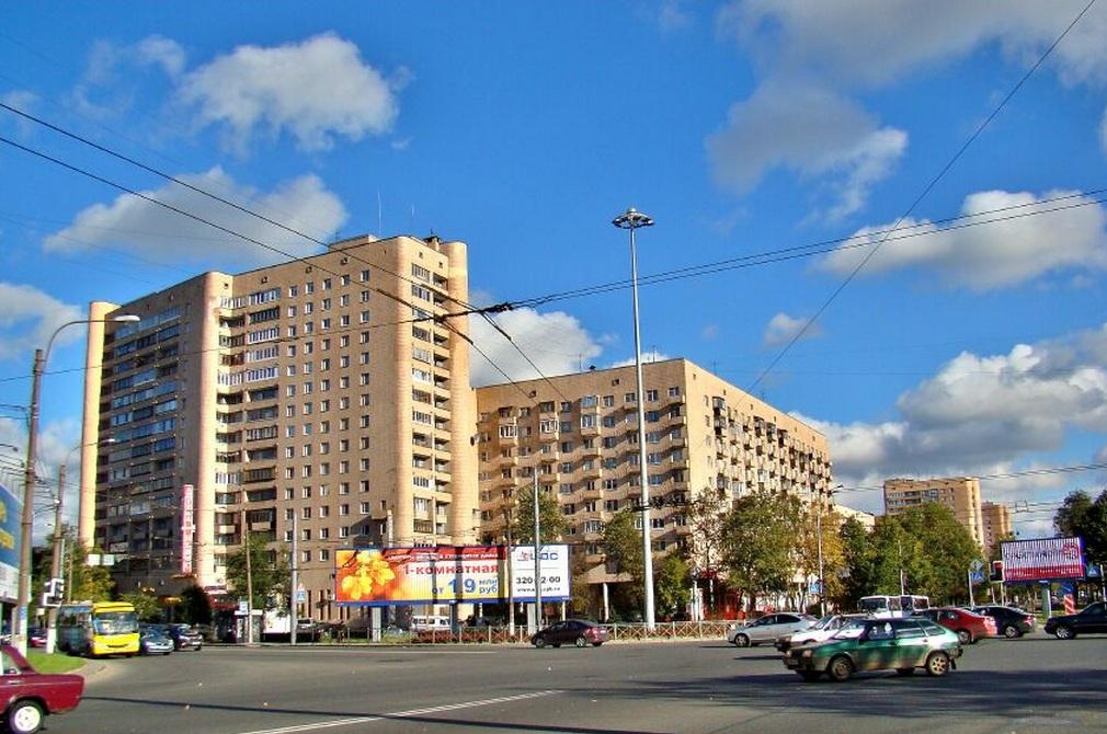 Гостиница в Петербурге рядом с площадью Мужества