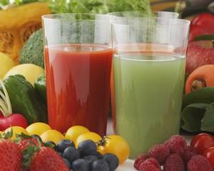 Соковая диета не несет пользы для ЖКТ
