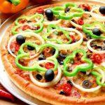Способ приготовления низкокалорийной пиццы