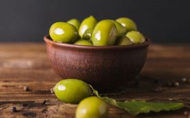 Самый здоровый перекус – это оливки
