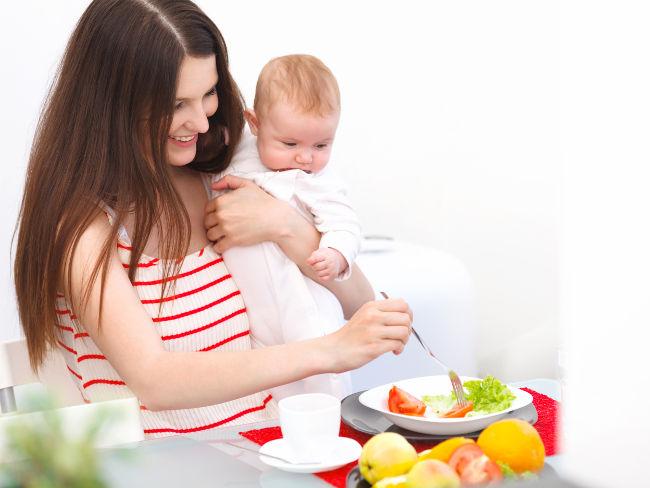 Диета при кормлении грудью