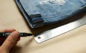 Джинсовые шорты своими руками: подробная инструкция