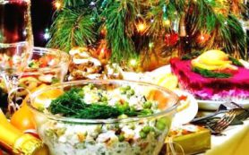 Диетолог назвала самые вредные продукты на новогоднем столе