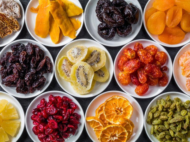 Сухофрукты и их польза для здоровья