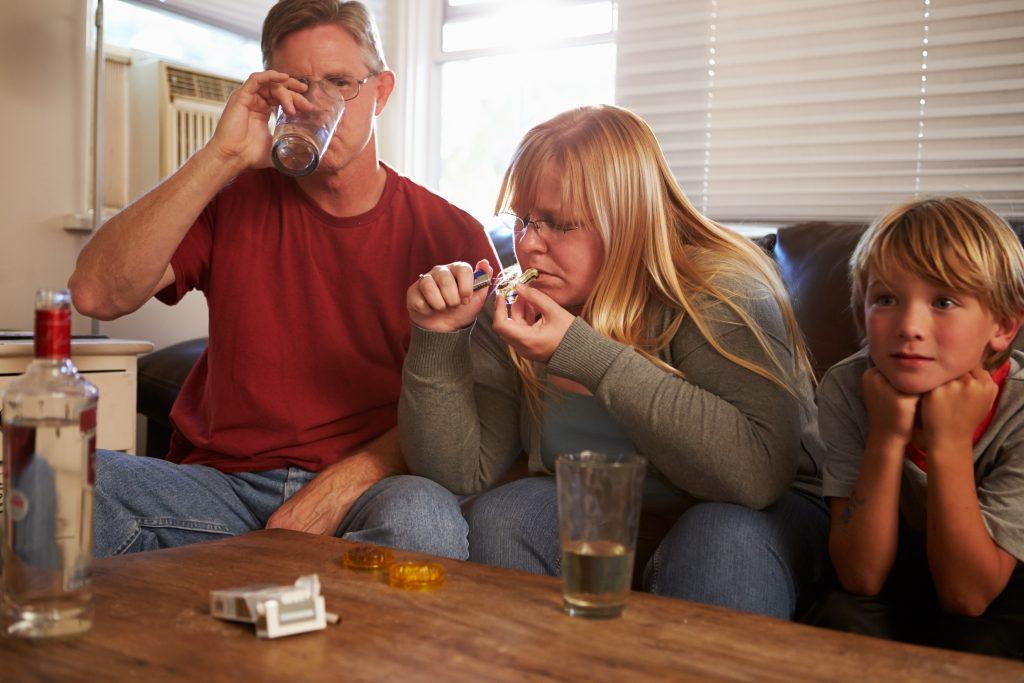 Влияние алкоголизма на семьи