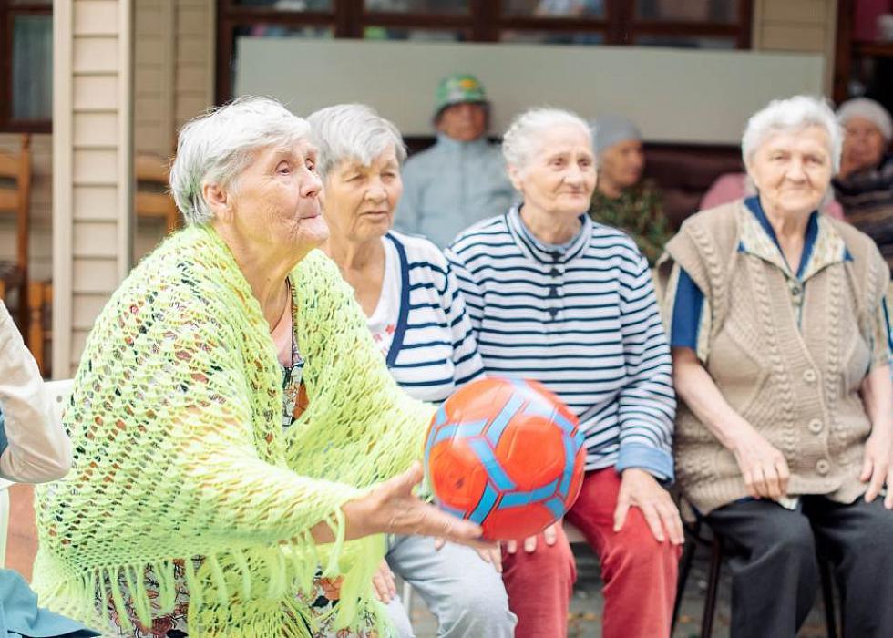 Заведение для пожилых