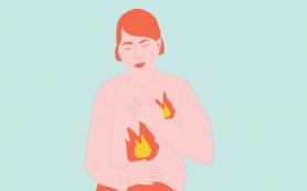 Изменения образа жизни помогут вылечить изжогу