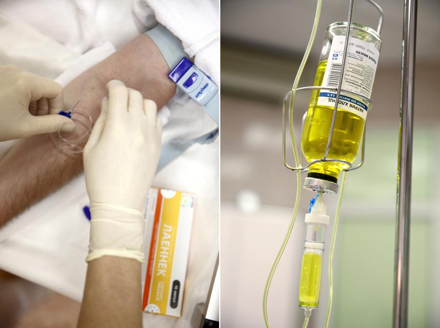 Как подготовить больного к применению капельницы от запоя